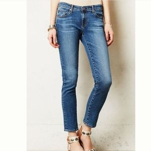 AG Adriano Goldschmied Stevie Straight Ankle Jeans